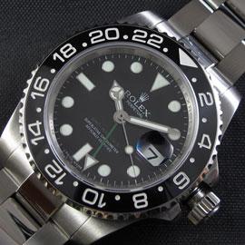 ロレックス GMT Master II Asian Rolex 3186 ハイエンドモデル